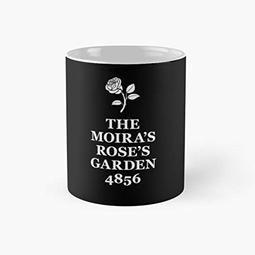 The Moira's Rose's Garden - white type Mug, moira rose Cup, 11 Ounce Ceramic Mug, Perfect Novelty Gift Mug, Funny Gift Mugs, Funny Coffee Mug 11oz, Tea Cups - Garden Mug Rose