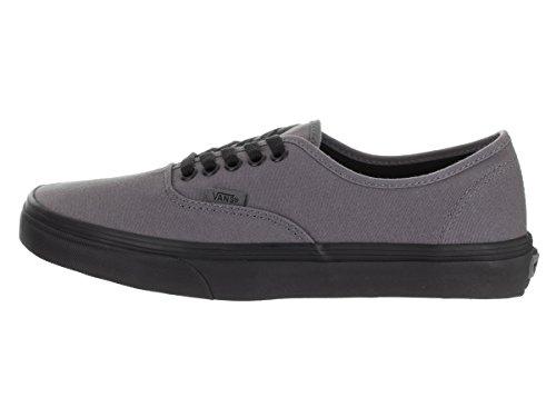Vans Unisex Authentic Skateschuh (Pop Sohle) Zinn / Schwarz