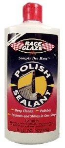 RACE GLAZE POLISH & SEALANT 16 OUNCE - Ounce 16 Glaze