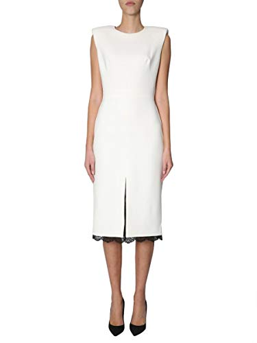 Robe Blanc Femme Alexander Laine 558795qmj090920 Mcqueen nqXwSR4