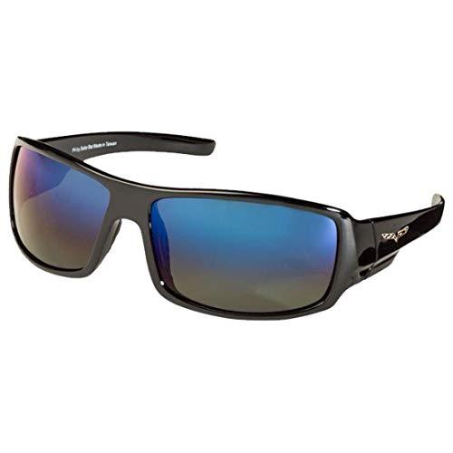 Corvette C6 Polarized Sunglasses El Series Sports Style Model CVJH1 by Solar Bat ()
