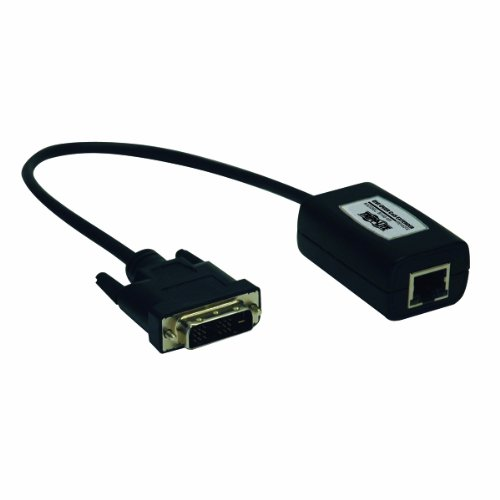 Tripp Lite DVI over Cat5 / Cat6 Extender, Video Receiver 1920x1080 at - Video Dvi Receiver Extender