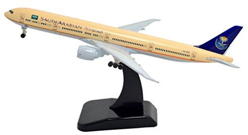 TANG DYNASTY 1/400 標準バージョン サウディア航空 Saudi Arabian Airlines ボーイング B777 高品質合金飛行機プレーン模型 おもちゃ