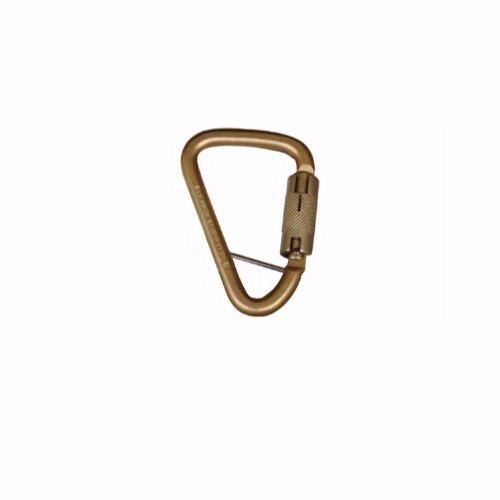Elk River 17443 Fall Rated Steel Carabiner with Auto Twist-Lock and Pin, 3600 lbs Gate, 1-1/16'' Gate Opening