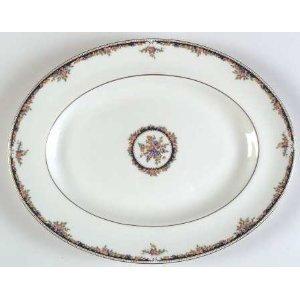 Wedgwood Osborne Oval Serving - Wedgwood Plates Oval
