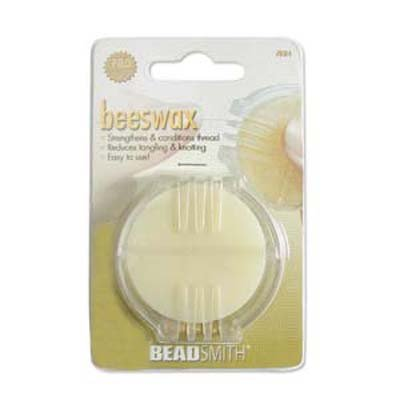 Beadsmith Beeswax Thread Strengthening Conditioner for Beading/Quilting/Crafting