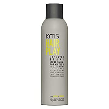 KMS California HairPlay Makeover Spray Aerosol, 6.7 oz 3 pack