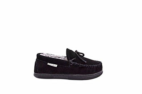 Aussie Merino Women's Isla Slippers 5 Black ()
