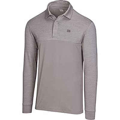 Three Sixty Six Long Sleeve Polo Shirts for Men - Men's Dry Fit Golf Polos - UPF 30 with 4 Way Stretch