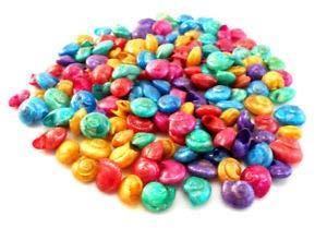 (KARPP 2 oz (About 150 Shells) Dyed Umbonium Mini Shells (1/2