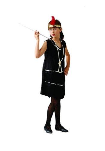 Flapp (Black Fringe Flapper Dress)