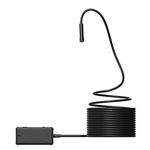 Criacr Wireless Endoscope, WiFi Waterproof Borescope with...