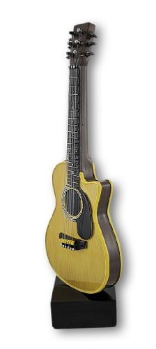 Smooth Classic Acoustic Guitar Statue