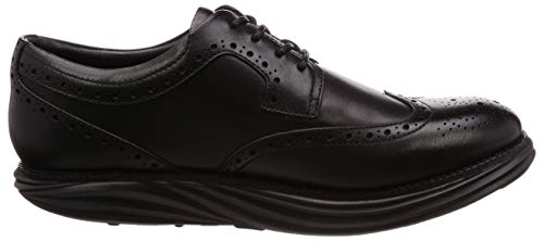 Wt 03n Uomo black Nero Mbt Scarpe M Brouge Stringate Boston Z5zYq5