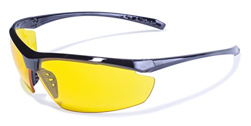 Safety Lieutenant Safety Glasses With Yellow Tint - Amazon Glasses Lens Yellow