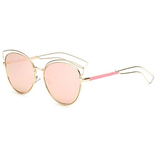 sol ahuecadas gafas de Shop sol colores de Dos películas metálicos para sol 6 de de gafas de sol mujer Gafas personalizadas Gafas 0q0Aw