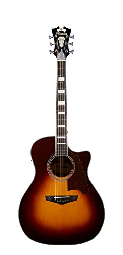 D'Angelico Premier Gramercy Acoustic-Electric Guitar - Vintage Sunburst