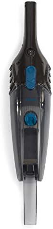 Aspirateur traîneau sans sac 2 en 1 - Aspirateur cyclonique - 600 W - Filtre Hepa - Longueur du câble : 5 m - Noir