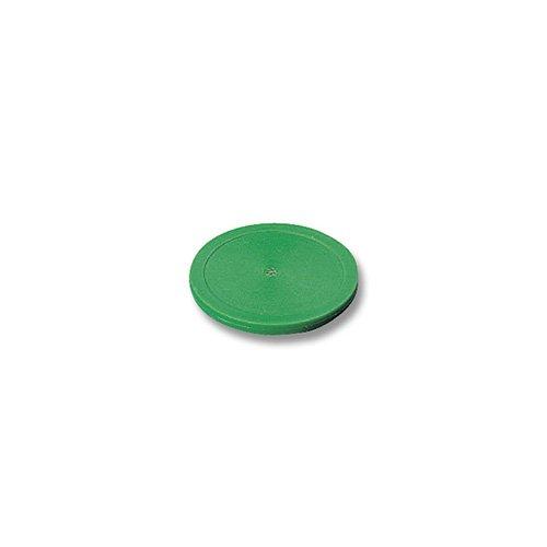 Palet air-hockey 83 mm en plastique vert Kickerscene