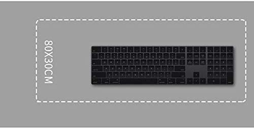 Color : F, Size : 5mm HMMSP Large Professional Esports Gaming Mouse Pad Wear Resistant Extended Keyboard Mouse Mat Locking Edge Design Non-Slip Rubber Base 80/×30cm 7 Styles