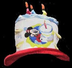 Disney Light Up Birthday Cake Hat Amazoncouk Toys Games