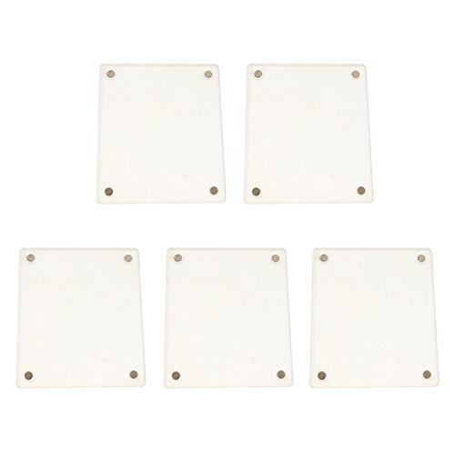 Jili Online 5 Pcs Clear Acrylic Fridge Magnetic Frame Double Sided for Fuji SQUARE SQ10