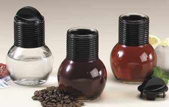 Tea/Coffee Glass Hottle w/ Spill Proof Stopper Cap, 10 Fluid Ounces by Pride Of India by Pride Of India (Image #2)