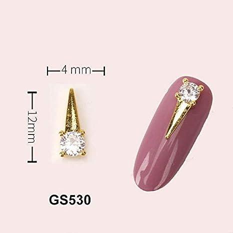 Amazon.com: Abalorio de aleación para uñas, 5 piezas de ...