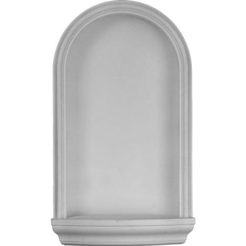 (Ekena Millwork NCH17X30KE Wall Niche Factory Primed White)