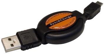 DURAGADGET Mini USB Retractable Data Transfer Sync Cable for Fujifilm Instax Mini 50S
