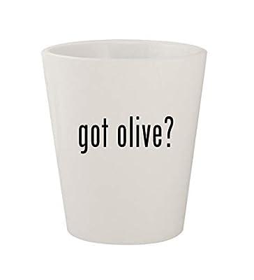 got olive? - Ceramic White 1.5oz Shot Glass