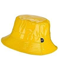 C.C Women's All Season Foldable Waterproof Rain Bucket Hat