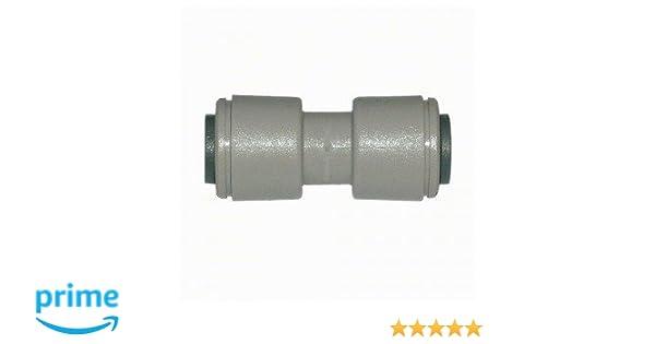 Universal - Empalme de unión para tubo de 8 mm (5/16