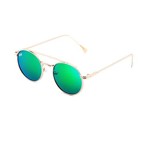 TWIG MONTESQUIEU Bronce Gafas redondo mujer Verde de hombre sol EqPEz6SZ