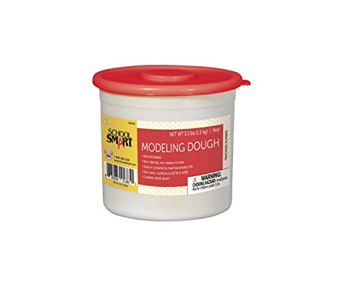 school-smart-non-toxic-modeling-dough-3-1-3-pounds-red