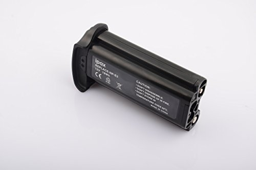 Canon Np E3 Nimh Battery - IPAX Battery for Canon NP-E3 NPE3 EOS-1Ds, EOS-1Ds Mark II, EOS-1D Mark II N, EOS1D Mark-2 with battery case gift