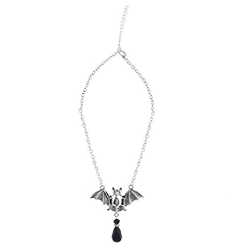 (Jovono Women's Necklace Jewelry For Women and Girl With Halloween Bat)
