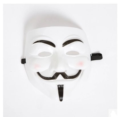 Halloween mask iron man mask V for Vendetta -