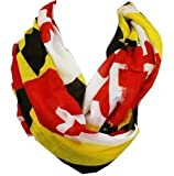Women's Maryland Flag Infinity Scarf Review