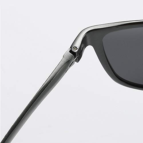 Y La Deportiva Sol Black para Blue Hombres Conducción Gafas Viaje Magnesio De Aluminio Polarizadas Ut8wqF6x