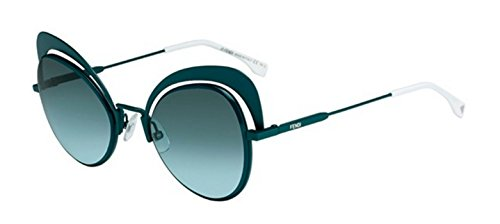 New Fendi EYESHINE FF 0247/S 1ED/EQ green/grey green shaded Sunglasses