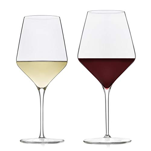 Libbey Signature Greenwich 12-Piece Wine Glass Party Set for Red and White Wines ()