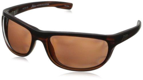 Hobie Cruz Oval Sunglasses,Satin Brown Wood Grain,64 -
