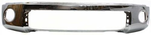 CPP Chrome Steel Front Bumper for 2007-2013 Toyota Tundra - TO1002182