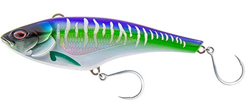Nomad Design Madmacs 160/200/240 Sinking High Speed Trolling Lure - Spanish Mackerel, 8 inch