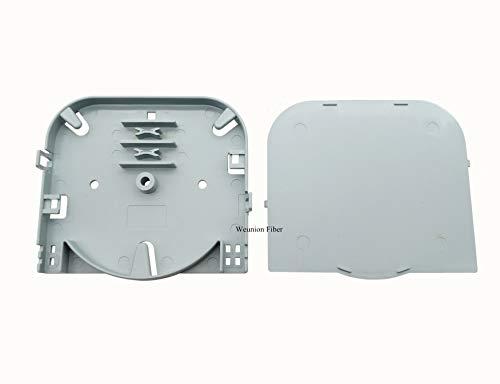10pcs 4 Fiber 6 Fiber 8 Fiber Cores FTTH Mini Fiber Splice Tray Fiber Closure ()