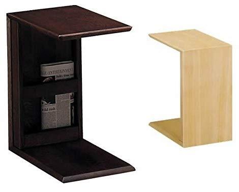 カリモク家具 リビングテーブル サイドテーブル 幅280mm   モカブラウン色(MK) B00931VA4W モカブラウン色(MK)
