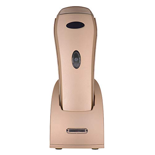 Aibecy Handhold 433MHz Wireless 1D 2D Image Barcode Scanner with USB Cradle Receiver Charging Base Long Transmission Distance Bar Code Reader for Mobile Payment Supermarket Store Computer Screen Scan