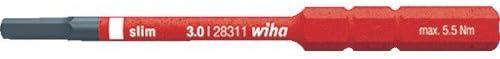 Wiha(ビーハ) 絶縁マガジン・リフトアップホルダー用六角ビット 2831-18H3 絶縁工具(ドライバー)