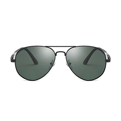 Sol Color piloto 3 Coolsir de de luz Gafas de los Sol Manera polarizada Eyewear la Hombres de Metal Gafas Providethebest de Doble de Marco Boy nPwWOqRqA